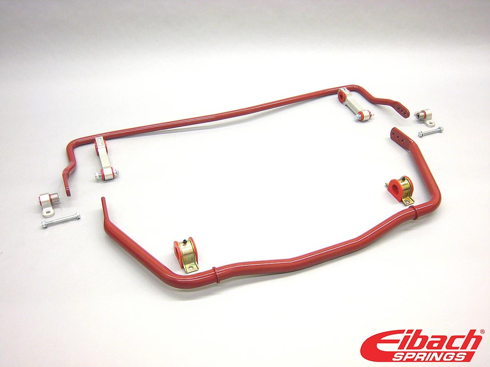 35129.320 Eibach Suspension Stabilizer Bar Assembly, 2011 - 2014 Ford Mustang, Front: 36mm;Rear: 25mm